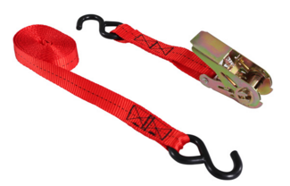 Oztrail Tie Down Strap W Ratchet Steelo S Guns