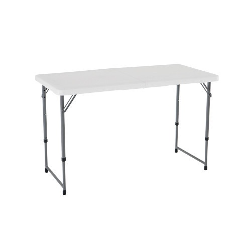 Picture of white fold up table
